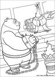 Kung Fu Panda 2 Coloring Picture Kung Fu Panda Birthday Ideas