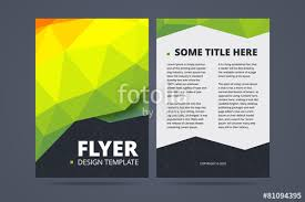 two sided flyer template free