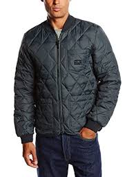 Lee Men's Quilted Down Quilted Long Sleeve Track Jacket, Black ... & Lee Men's Quilted Down Quilted Long Sleeve Track Jacket, Black (Faded  Black), Adamdwight.com