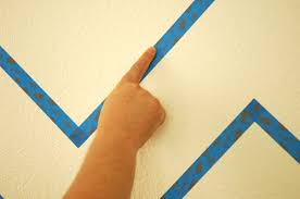 how to paint perfect stripes on