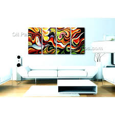 big w wall art canvas