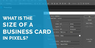 Business Card Size In Pixels What Is The Size Of A Business Card In Pixels