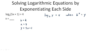 solving equations with logs jennarocca