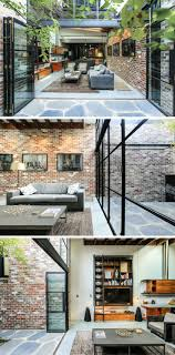A Garage Was Converted Into This Comfortable Living Space. Modern HomesIndustrial  ...
