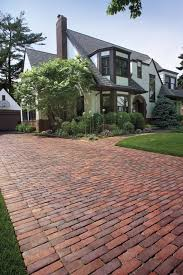 Brick Entrance Designs Driveway Copthorne Driveway With Walkway To Front Entrance Brick