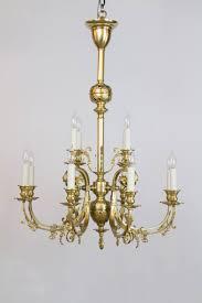home gasoliers twelve light continental brass gas chandelier