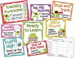 Frog Themed Behavior Chart Frog Theme Behavior Chart Clip Chart Behavior Clip