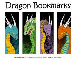 You can use our amazing online tool to color and edit the following bookmark coloring pages printable. Printable Dragon Bookmarks Dragon Bookmark Free Printable Bookmarks Bookmarks Kids