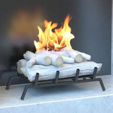 birch convert to ethanol fireplace log set with burner insert from gel gas logs fuel home