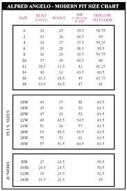 Alfred Angelo Colour Chart Wedding Dress Size Chart Alfred Angelo Wedding