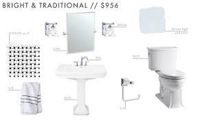 Affordable Bathroom Light Fixtures 9 Affordable Budget Powder Room Designs Aka The 1 2 Bath