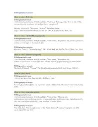 Best Photos Of Sample Bibliography Page Apa Bibliography Citation