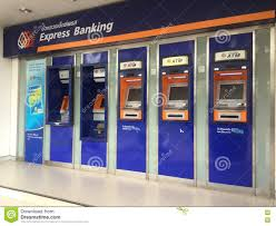 ATM Of BANGKOK BANK PUBLIC COMPANY LIMITED Editorial Stock Image - Image of  thailand, argent: 75400939