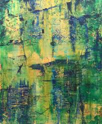 abstract art takes center stage in new show at the art league of long island