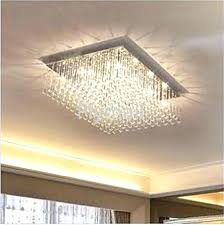 crystal drops for chandeliers modern fashion glass k9 crystal chandeliers rectangle ceiling light living room aisle
