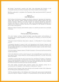 Series A Term Sheet Template Investment Banking Simple