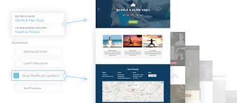 website builder make your own website vistaprint website templates personalize responsive designs