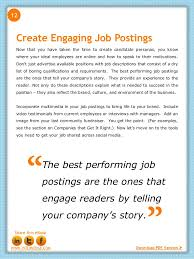 How To Optimize Job Postings For Social Media Sharing