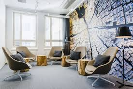 office design architecture. The Working Areas Have A More Neutral Colour Tone With An Emphasis On Acoustics. Set Of Quiet Rooms Were Allocated Near Open Plan Office To Provide Design Architecture