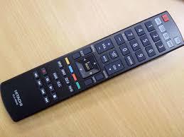 hitachi tv remote. hitachi tv remote l