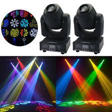 Disco Lights Big W Details About 2pcs 30w Rgbw Stage Light Led Beam Moving Head Light Dmx512 Disco Dj Party Light