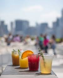 the cantor roof garden bar at the met