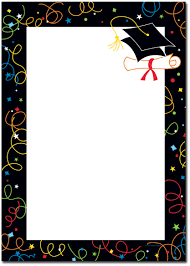 Party Borders For Invitations Free Graduation Party Borders And Clipart Png And Cliparts