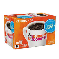 For an extra perk, beginning today, february 24, through march 23, dd perks ® members can earn points toward a free beverage reward twice as fast with 2x points (10 points per dollar rather than. Dunkin Donuts Coffee K Cup Pods French Vanilla Flavored 10 0 37 Oz Shaw S