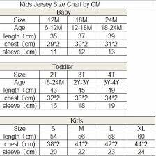 Kids Jersey Size Chart Real Usa Size Xo Skull Roses 3d Sublimation Print Baseball