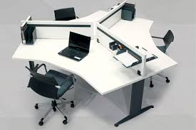 office desk workstation. Workstation Desk / Wooden Contemporary Commercial Office