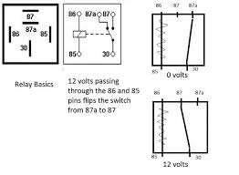 relay wiring diagram 4 pin 4 pin relay wiring diagram how to wire up a relay at Relay Wiring Diagram 87a