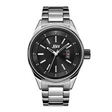 jbw watches boldly original watches for men and women jbw com jbw rook j6287m silver black diamond watch front