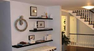 Floating Black Shelves For Wall