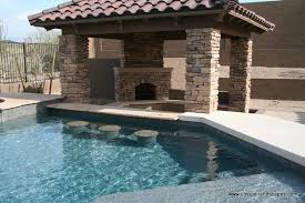 backyard pool bar. Phoenix Pool Bar Swimming Ramada Fireplace Backyard E