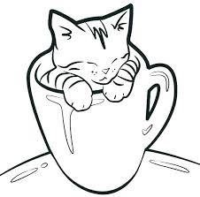 Puppy And Kitten Coloring Pages Cute Kitten Coloring Pages Elegant