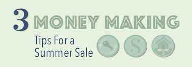 3 Money Making Tips For A Summer Sale