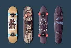 Skateboards Designs Scott Hudson Star Wars Skateboards Designs