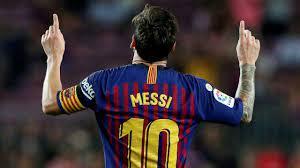 Legendary footballer Lionel Messi will ...
