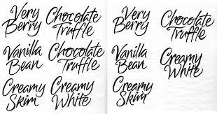 Custom Letter Art Template Unique The Art Of Hand Lettering Custom Script For A Packaging Line Inside