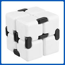 infinity cube amazon. creazy luxury edc infinity cube mini for stress relief fidget anti anxiety funny (white amazon s