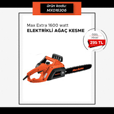 Max Extra MX6306 Elektrikli Ağaç Kesme 1600 watt, 2020   Ağaç, Ağırlıklar