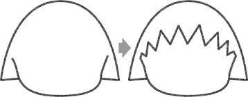 ちびまる子ちゃんのイラストの簡単な書き方