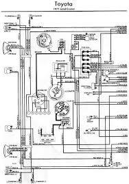 toyota land cruiser electrical wiring diagram left part all toyota land cruiser 1971 electrical wiring diagram left part
