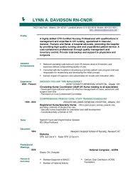 Free Nurse Resume Template All Best Cv Resume Ideas