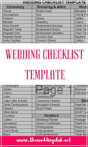 Wedding Checklist Template Unique The Complete Guide To Wedding Binder Printables THE WEDDING CLUB
