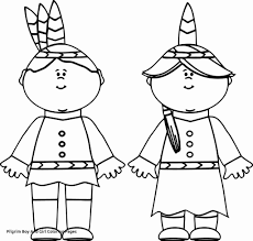 Pilgrim Girl Coloring Page New Native American Coloring Pages Free