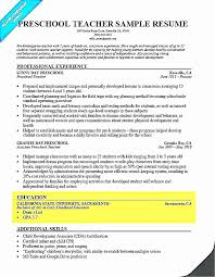 Kindergarten Iep Goals Lovely Preschool Teacher Resume
