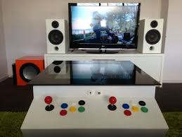 home made player arcade coffee table ultimate coffee table