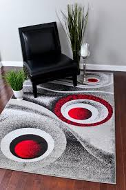 com 1504 grey gray 5x7 area rug carpet modern abstract home within rugs plan 17
