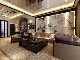 Oriental Living Room Oriental Decorating Ideas Interior Design Brown Shaggy Area Rug